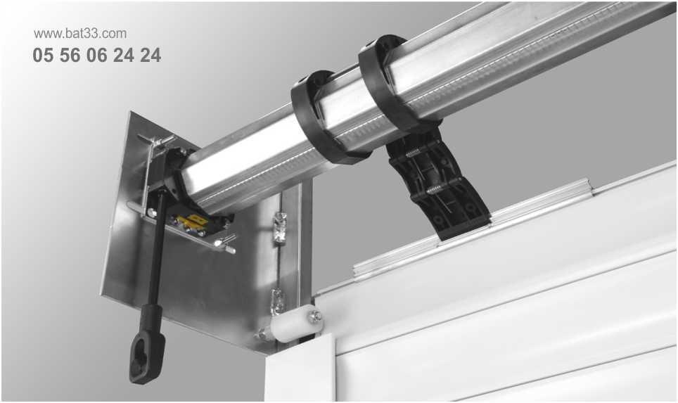 Motorisation porte de garage bordeaux installation moteur for Moteur nice porte garage